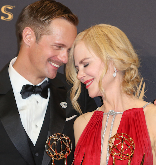 Nicole Kidman Explained Her Emmys Smooch With Alexander Skarsgard