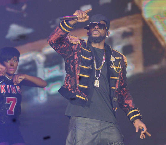 R. Kelly Asked The Media To Leave Him Alone Ahead Of An Appearance At A Poorly Attended Private Event